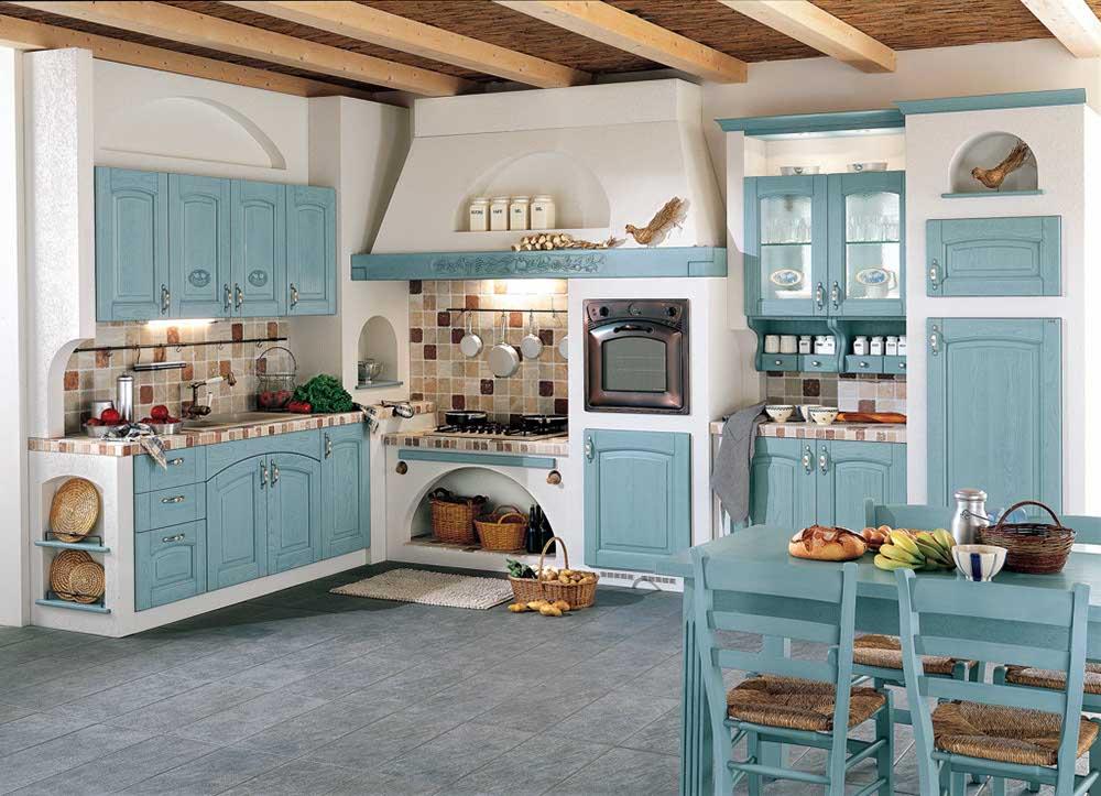 le cucine in muratura ar tre sono caratterizzate da unampia versatilit sia nelle varianti estetiche che in quelle strutturali compositive