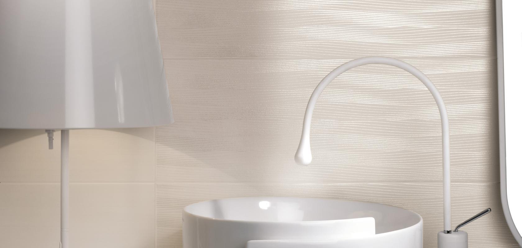 Piastrelle bagno texture bianche la versatile e completa for Piastrelle bianche adesive