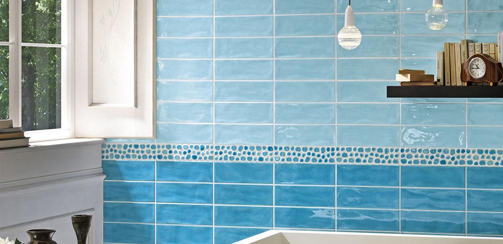 Tonalite - Piastrelle bagno azzurre ...
