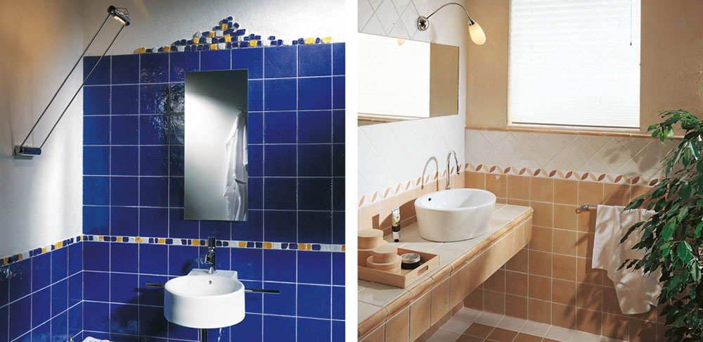 Bagni blu elegant bagno blu e bianco with bagni blu - Piastrelle bagno blu ...