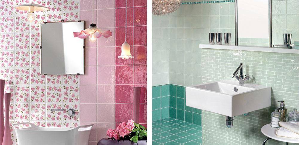 Piastrelle bagno verdi verde convesso mosaico in ceramica for Piastrelle esagonali bricoman